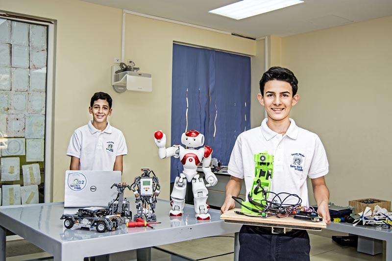 Robotica Escuela Santa Maria del Valle ESMV