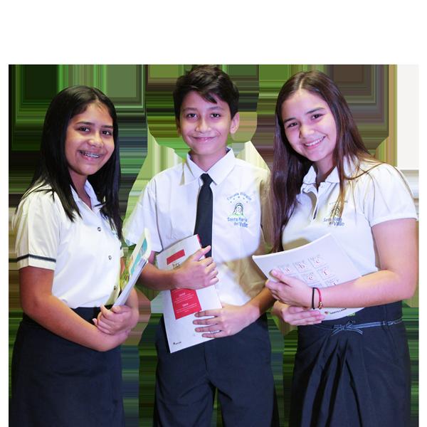 Estudiantes Escuela Santa Maria del Valle ESMV