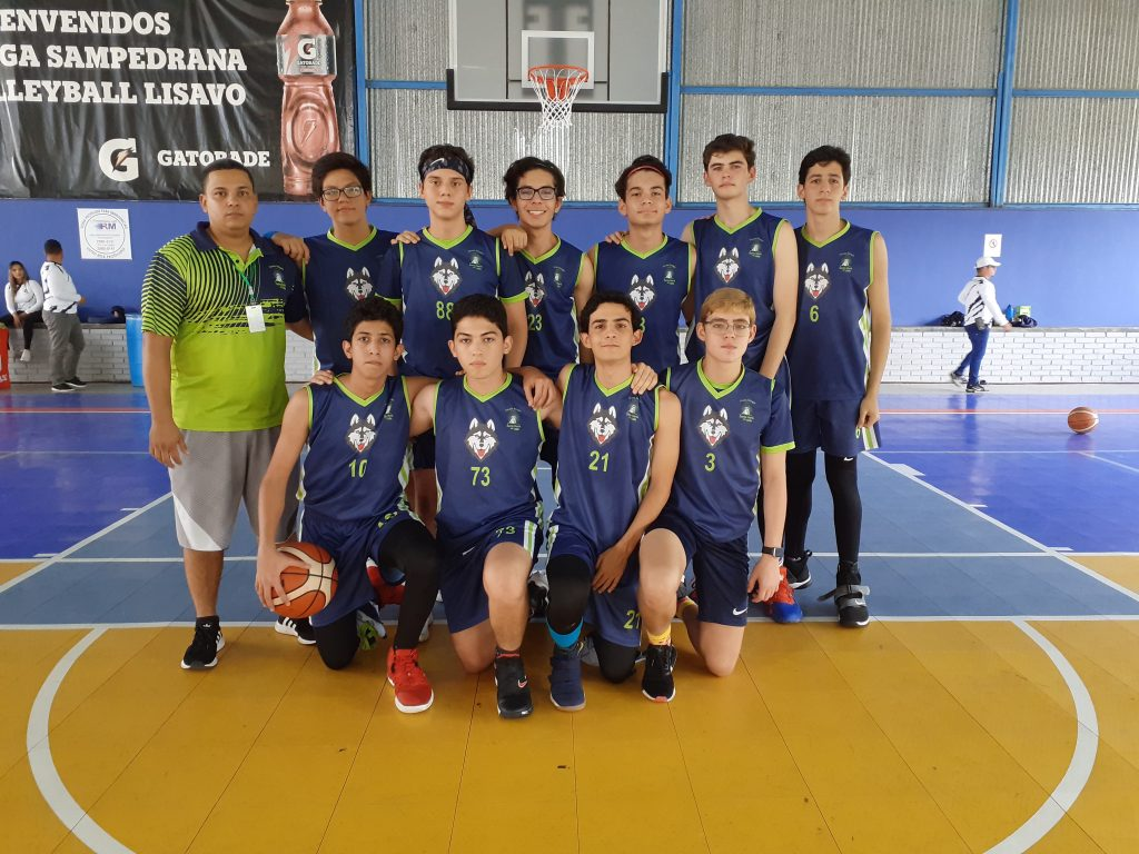 Basketball Team on the ABSH Competition